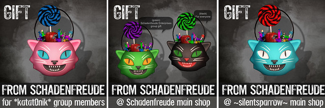 Halloween Gifts from Schadenfreude!