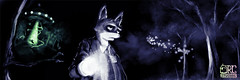 Foxy Mulder Commission (Twitter Header)