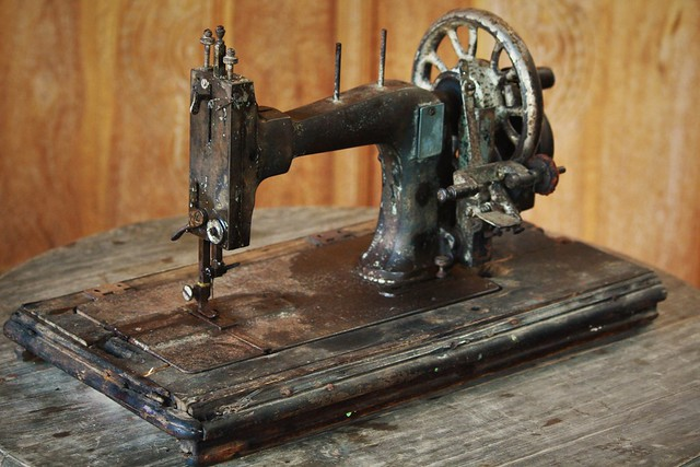 My Antique Sewing Machine