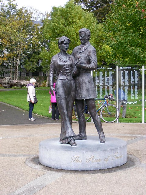 Rose of Tralee Statue