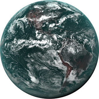 GOES-16 False Color