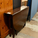 Mahogany drop leaf table E90