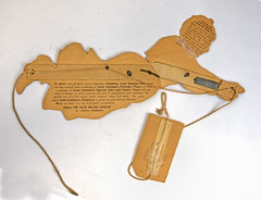 Aunt Jemima cardboard toy