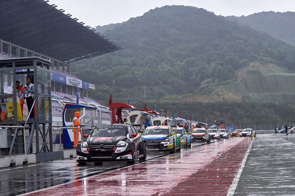 during the 2017 FIA WTCC World Touring Car Championship at Ningbo, China, October 13 to 15 - Photo David Noels / DPPI Rob Huff, Citroen C Elysee, Munnich Motorsport