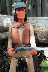 Billy Two Feathers with his Winchester Rifle
