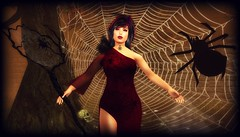TFF Spider Sorceress in Red for Team Diabetes