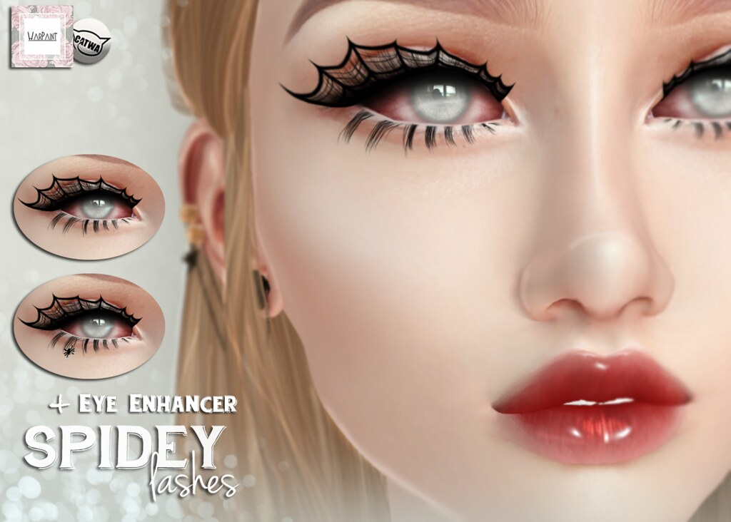WarPaint* @ Applique - Spidey lashes - TeleportHub.com Live!