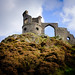 Folly castle on top of Mow Cop