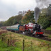 Class 5MT, 13065 (42765) works 1J55 Heywood to Rawtenstall, East Lancashire Railway, Autumn steam gala 15.10.2017