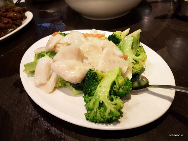 Grouper With Broccoli