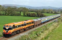 RPSI 'Munster Double' Railtour Arriving Into Tralee.