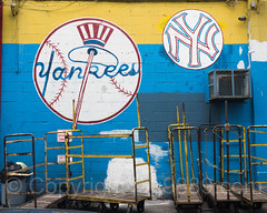 Drinks Galore Yankees Mural at 1331 Jerome Avenue, Bronx, New York City