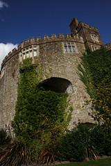 Doesn't it look like Walmer castle is being sick??