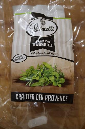 Kräuter der Provence-Nudeln (von Pastatelli)