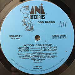 DON BARON:ACTION(LABEL SIDE-A)