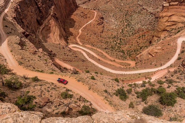 Shafer Trail - Canyonlands National Park