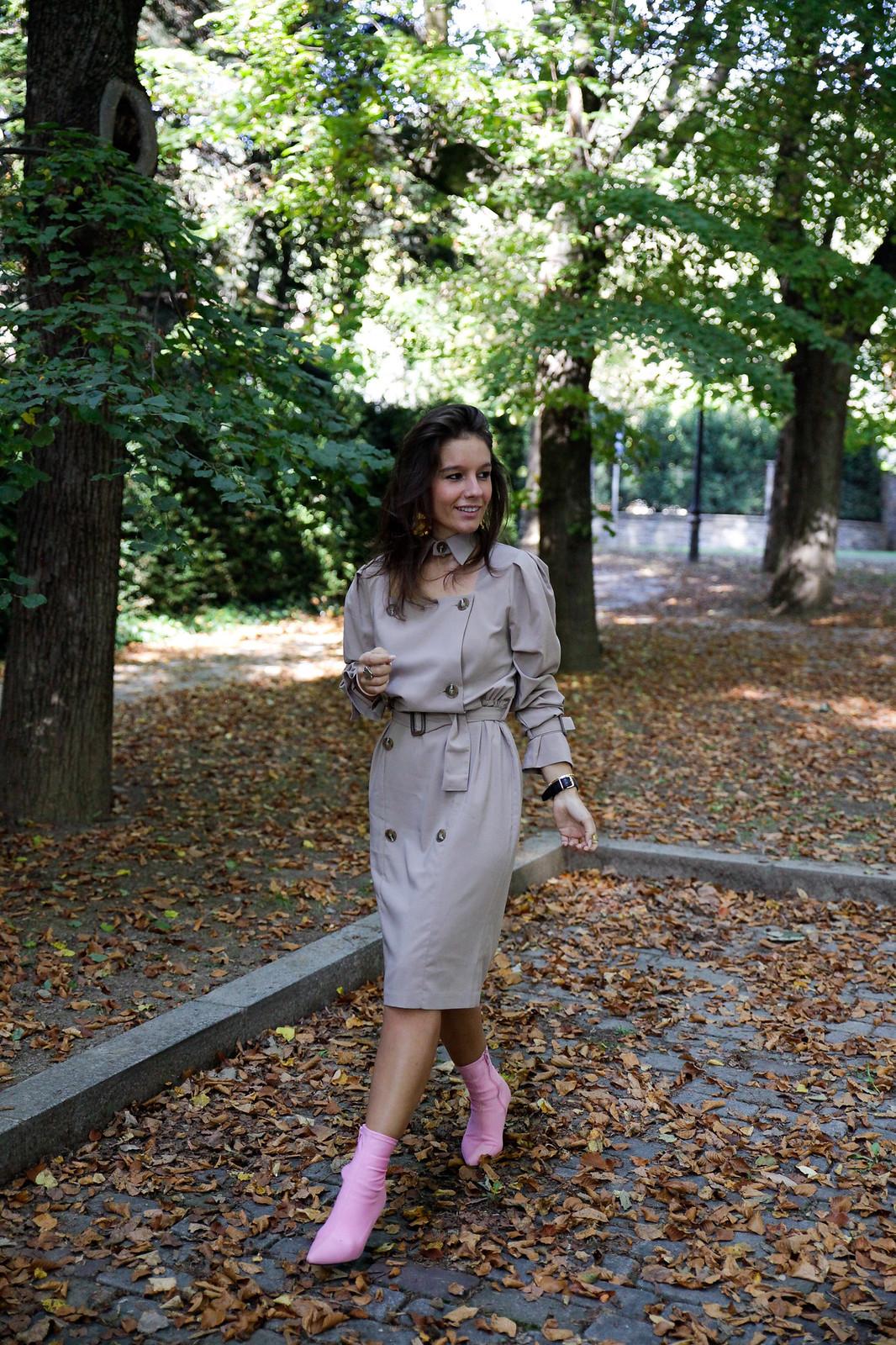 storets trench dress vestido burberry