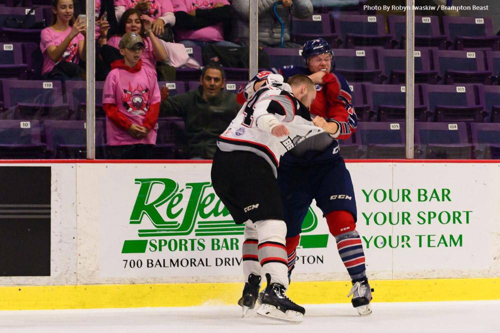 Stefan Fournier and Mackenze Stewart Fight