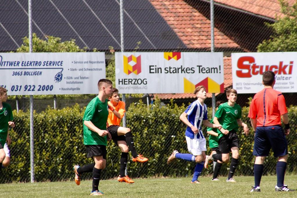FC Bolligen - SVK Junioren B 15.8.2016