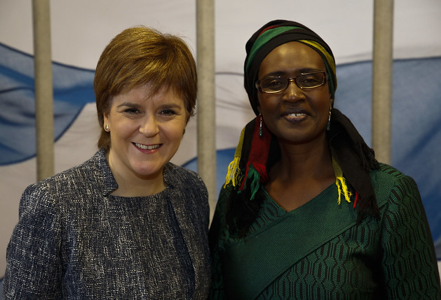 FM - meets Winnie Byanyima from Oxfam International