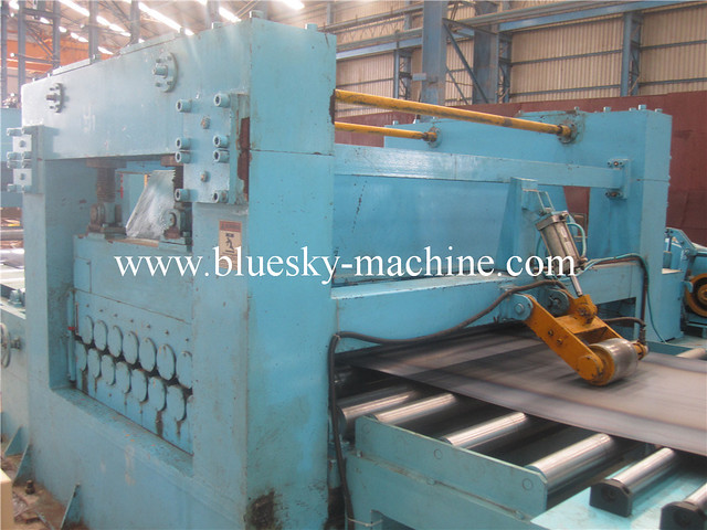 used machine tin plate cut to length line