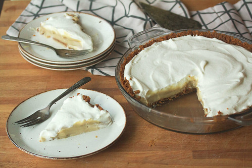 Bourbon-Butterscotch Cream Pie