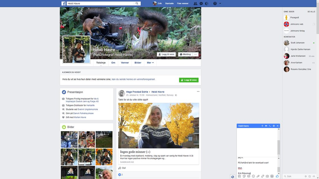 heidi havre facebook 1