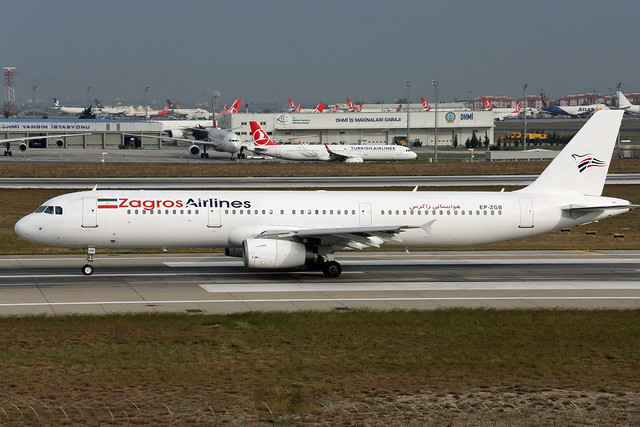 Zagros Airlines A321