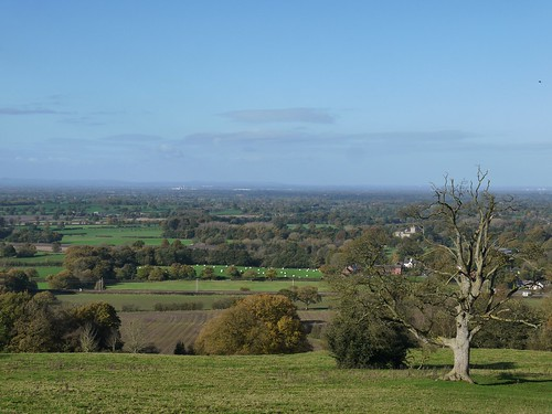 Views over Cheshire
