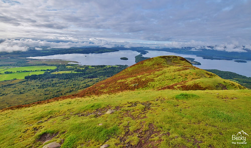 Hiking UK - a day hike in the UK - Conic Hill
