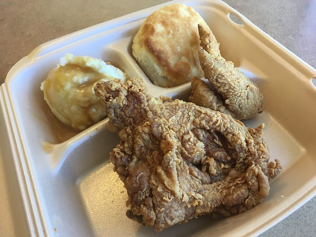 2 piece fried chicken dinner - Bojangles' Famous Chicken 'n Biscuits