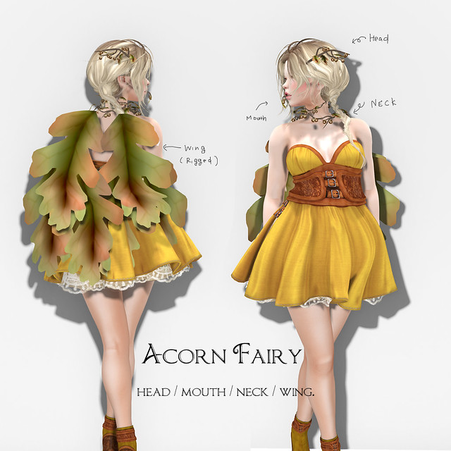 *NAMINOKE*Acorn Fairy