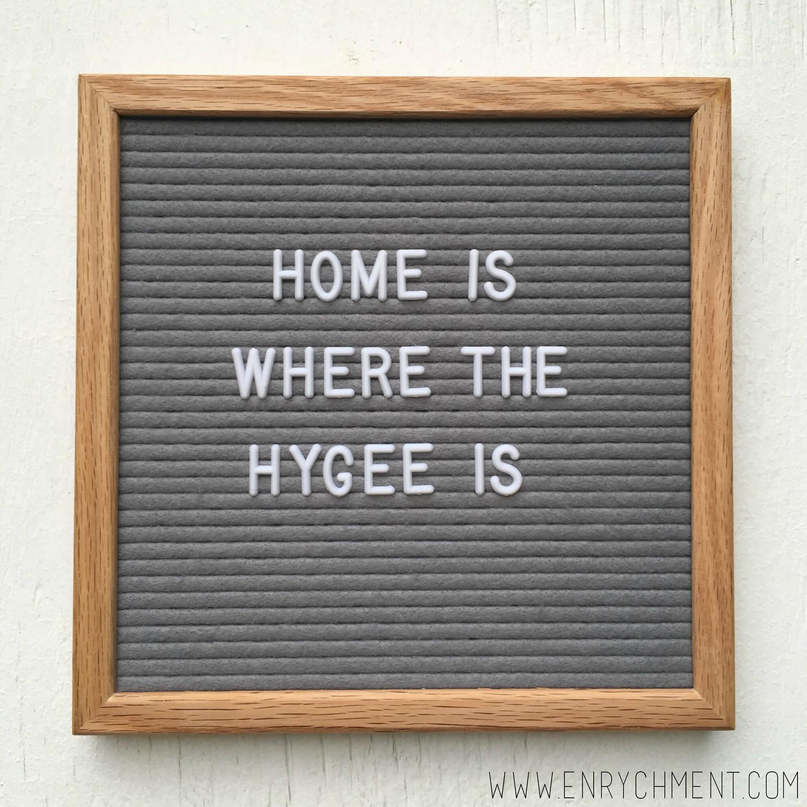hygee letterboard