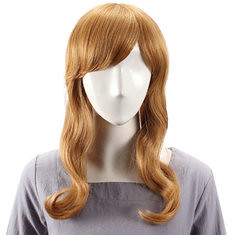 Human Hair Wig Long Straight Full Bang Virgin Remy Mono Top Capless (989560) #Banggood