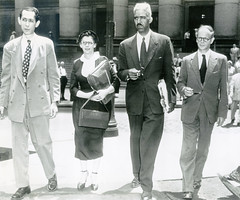 Hunton to be jailed for refusing to be a stool pigeon: 1951