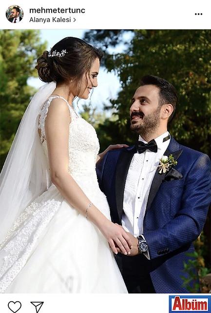 Mehmet Ertunç, düğün töreni öncesi Alanya Kalesi'nden yaptığı bu paylaşımla beğeni yağmuruna tutuldu.