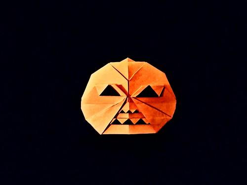 Pumpkin yin yang