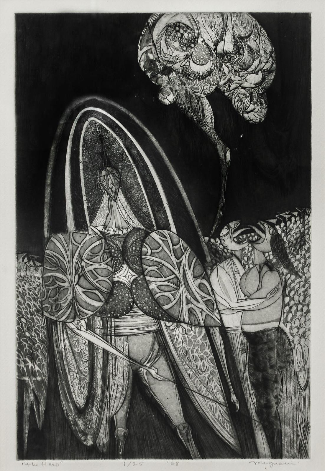 Joseph Mugnaini - The Hero, 1968