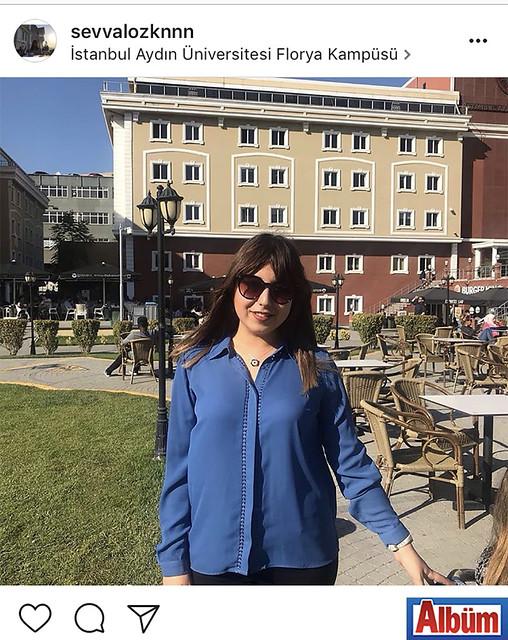 Türkçe Öğretmenliği Bölümü'nde okuyan Şevval Özkan, Aydın Üniversitesi Florya Kampüsü'nden bu fotoğrafı yayınladı.