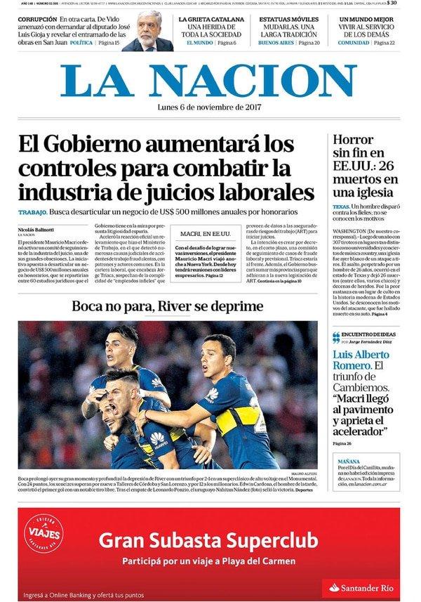 la nacion 06/11/2017