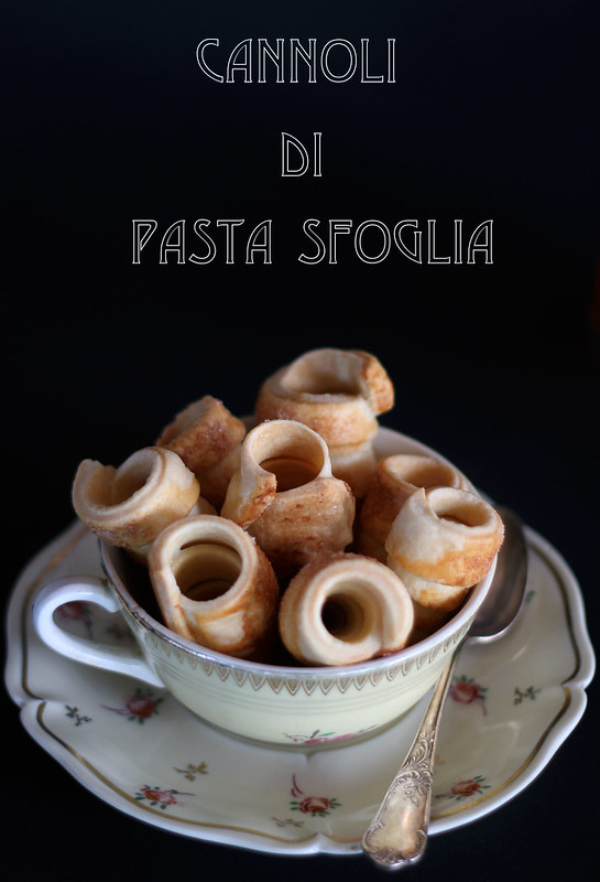 cannoli di pasta sfoglia