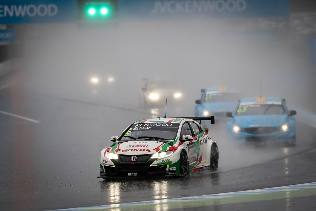 05 MICHELISZ Norbert (hun) Honda Civic team Castrol Honda WTC action during the 2017 FIA WTCC World Touring Car Championship race at Motegi from october 27 to 29, Japan - Photo Alexandre Guillaumot / DPPI