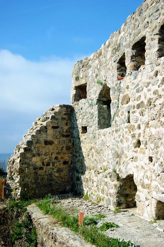 Крепостная стена Старого Улциня
