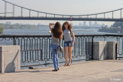 Posing on the Quay