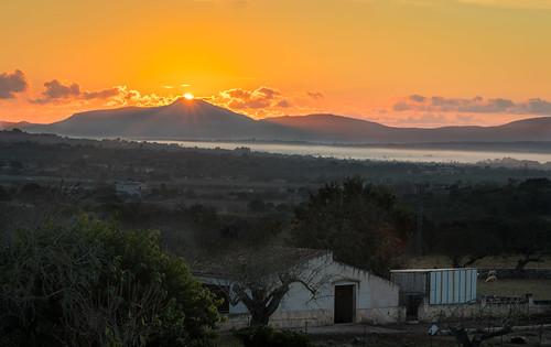 Mallorca: Sunrise Landscape
