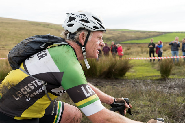 Riders compete in the 2017/55th Annual 3 Peaks Cyclo-Cross, Ingleton Yorkshire Dales,  UK