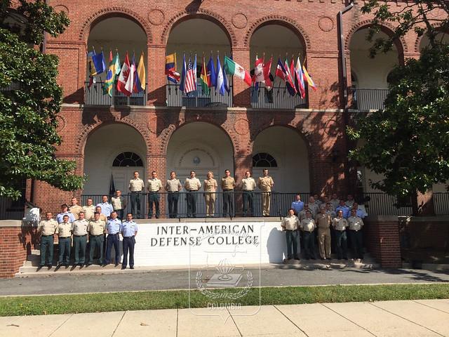 Visita al Colegio Interamericano de Defensa