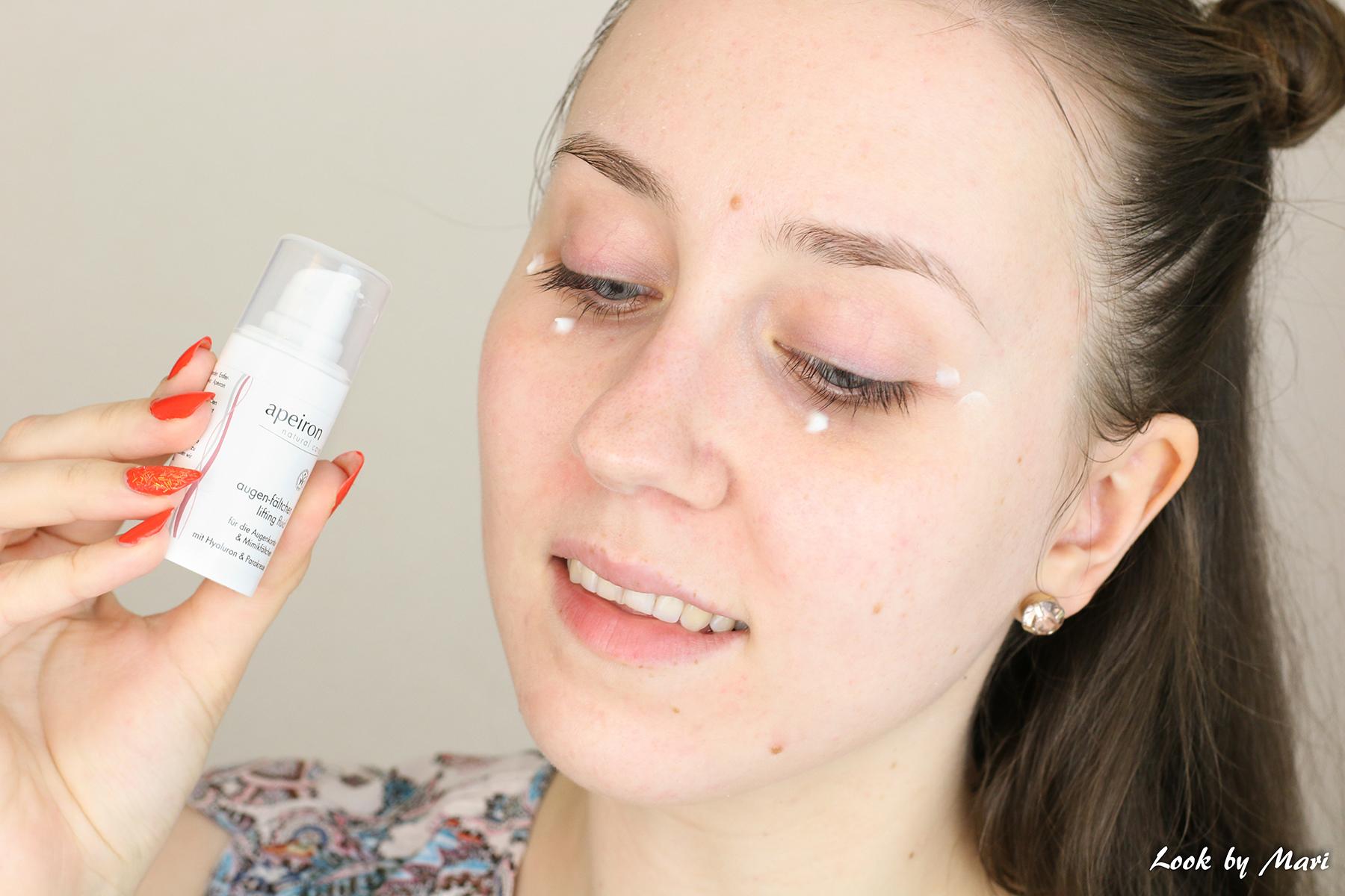 13 Apeiron lifting eye cream review silmänympärysvoide kokemuksia hinta