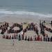 PERTH human sign CREDIT Nadia Macaulay by #StopAdani
