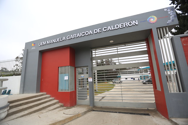 Inauguración UEM Manuela Garaicoa de Calderón